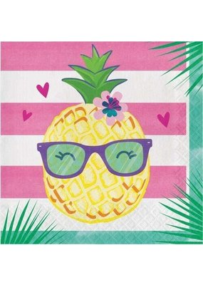 ***Pineapple & Friends Lunch Napkins