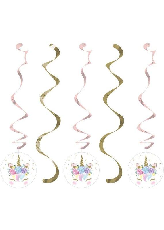 ****Unicorn Baby Sparkle Dizzy Danglers
