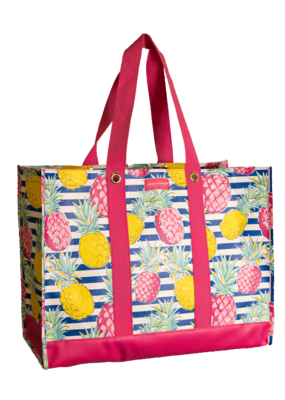 ***Simply Southern Large Plastic Pineapple Tote