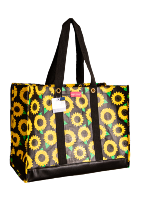 ***Simply Southern Large Plastic SunflowerTote