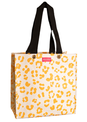 ***Simply Southern Small Cheetah Plastic Tote