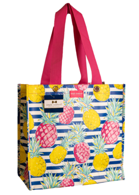 ***Simply Southern Small Pineapple Plastic Tote
