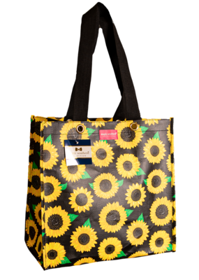 ***Simply Southern Small Sunflower Plastic Tote