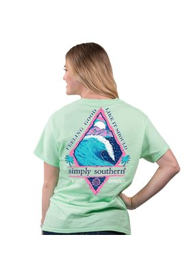 ***Simply Southern Short Sleeve Feeling Mint