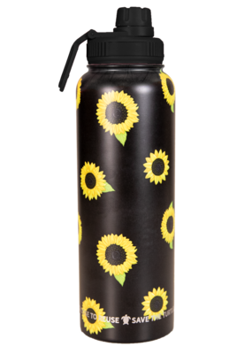 ***Simply Southern Large Sunflower Waterbottle, 40oz