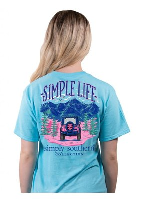 ***Simply Southern Short Sleeve Simple Life Pool
