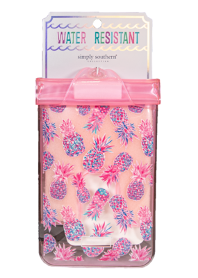 ***Simply Southern Water Resistant Pouch Pineapple