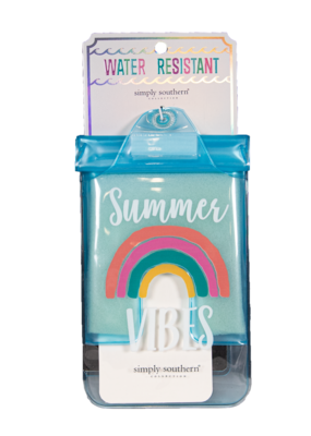 ***Simply Southern Water Resistant Pouch Summer Vibes
