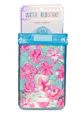 ***Simply Southern Water Resistant Pouch Tropic