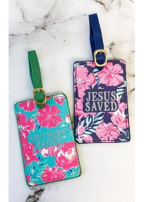 ***Simply Southern Tropic Luggage Tags