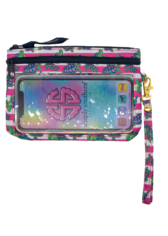 ***Simply Southern Phone Turtle Wristlet