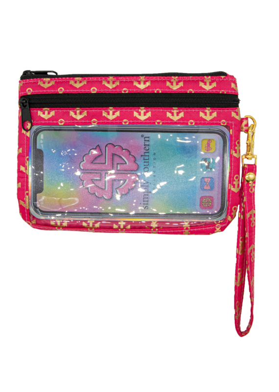 ***Simply Southern Phone Anchor Wristlet