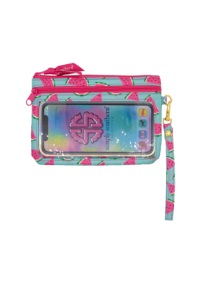 ***Simply Southern Phone Watermelon Wristlet