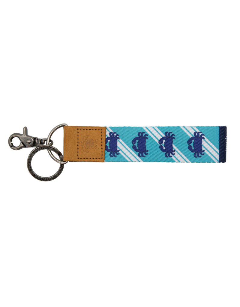 ***Simply Southern Fabric Key Chain Crab