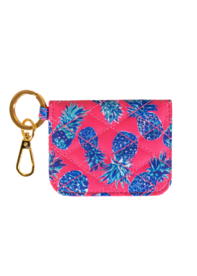 ***Simply Southern ID Wallet Pink Pineapple