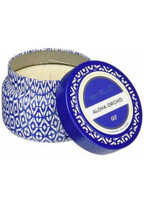 Capri Blue ***Aloha Orchid Capri Blue Printed 3oz Jar Candle