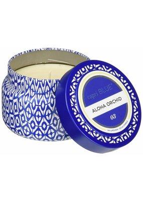Capri Blue ***Aloha Orchid Capri Blue Printed 3oz Jar Candle