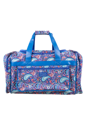 ***Simply Southern Paisley Duffle Bag