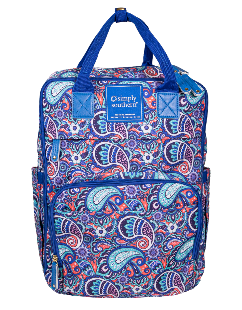 ***Simply Southern Paisley Backpack