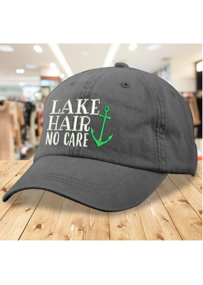 Piper Lou ***Lake Hair No Care Baseball Cotton Twill Hat