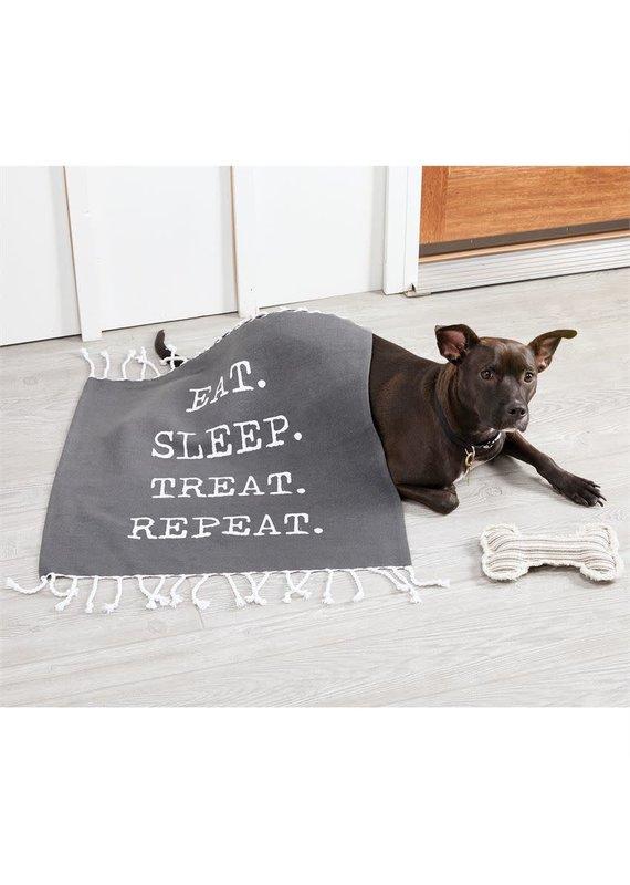 ***Eat.Sleep.Treat.Repeat Dog Toy & Blanket