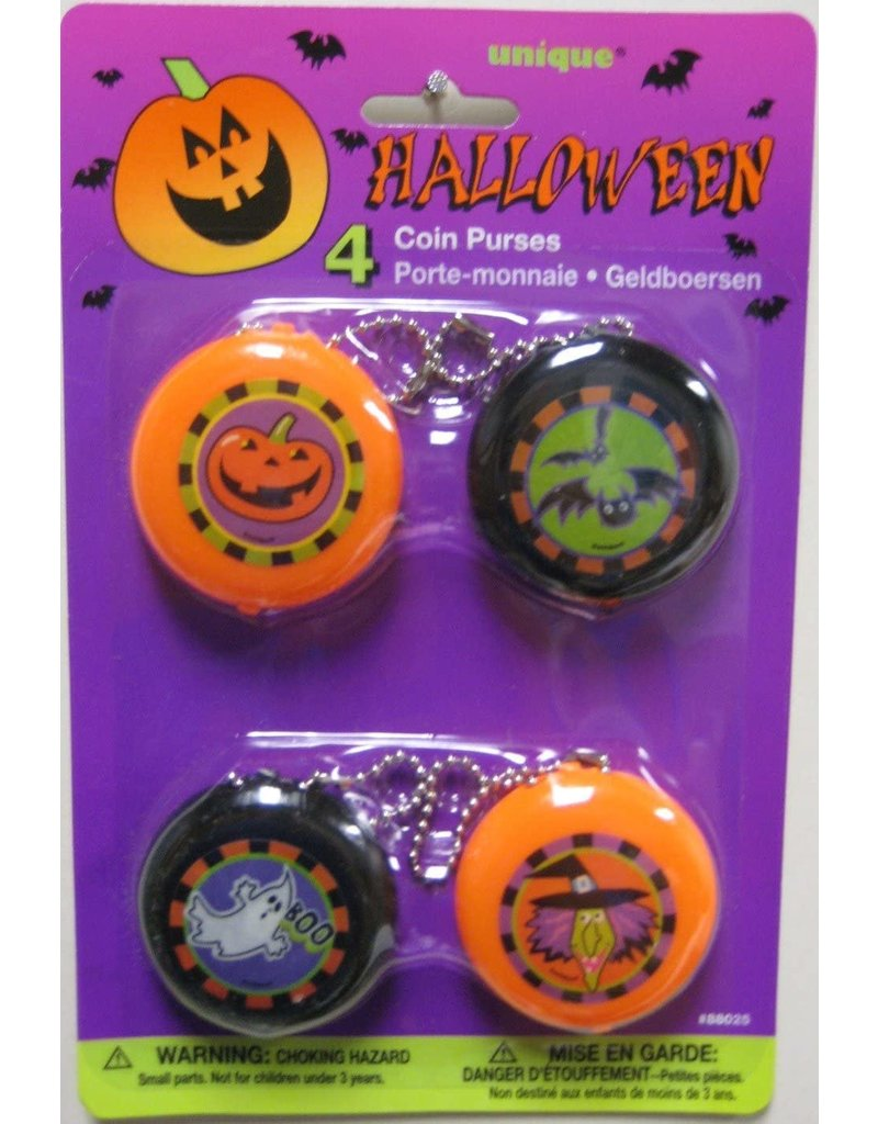 ****Halloween Coin Purses 4ct