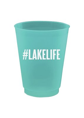 ***Lake Life 16oz Party Cups 8ct.
