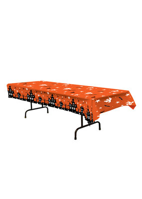 ****Haunted House Plastic Tablecover