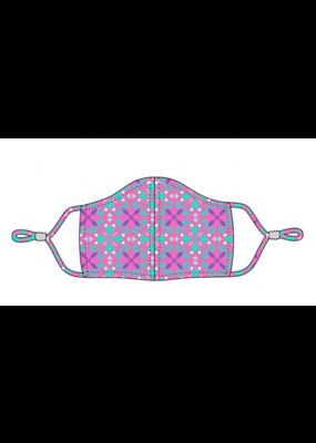 ***Viv & Lou Kid's Face Mask Pink Lila