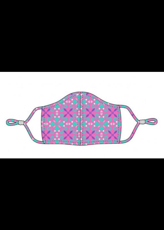 Viv & Lou ***Viv & Lou Kid's Face Mask Pink Lila