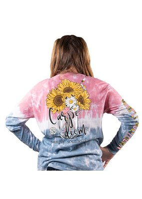 ***Simply Southern Long Sleeve Carpe Burst