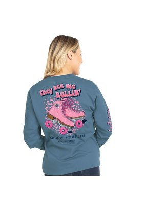 ***Simply Southern Long Sleeve Rollin Stone