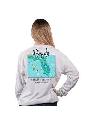 ***Simply Southern Long Sleeve Florida Ash