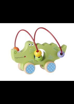 ***Wood Alligator Push Toy
