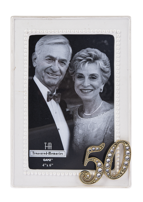 ***50th Anniversary Porcelain Photo Frame