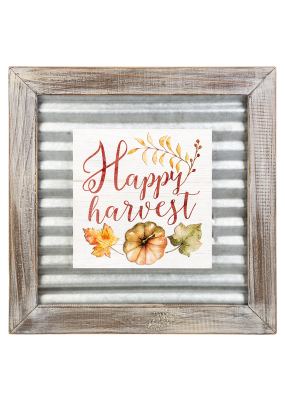 ****Happy Harvest Layered Sign