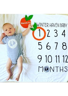 ***Winter Haven Baby Milestone Blanket