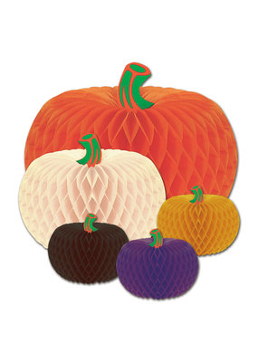 ***Honeycomb Tissue Pumpkins