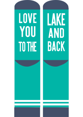 ***Simply Southern Love You to the Lake Socks