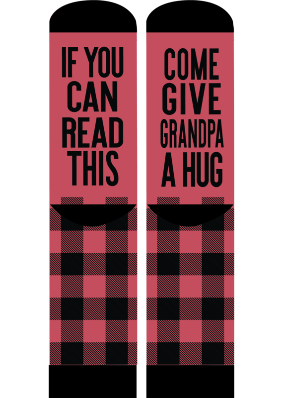 ***Simply Southern Grandpa Hug Socks