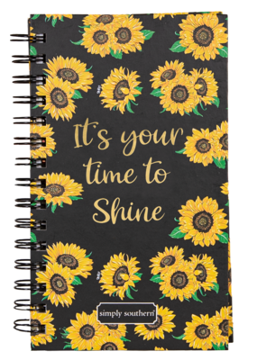 ***Simply Southern Notebook Sunflower