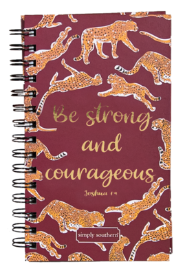 ***Simply Southern Notebook Cheetah