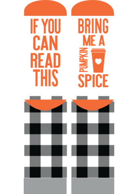 ***Simply Southern Pumpkin Spice Fall Socks