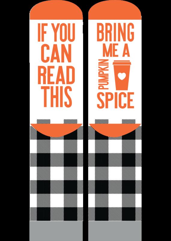 ***Simply Southern Pumpkin Spice Fall Socks