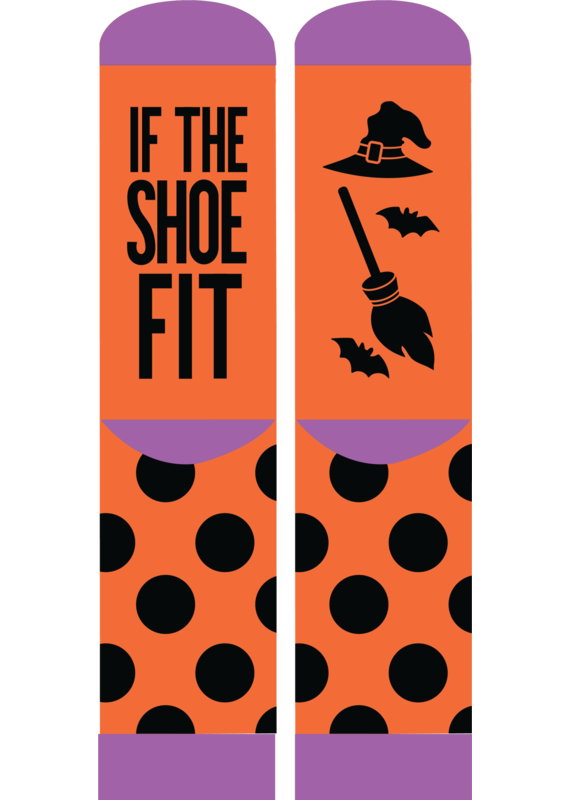 ***Simply Southern Shoe Fits Halloween Socks