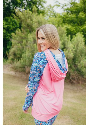 ***Simply Southern Double Hoodie Paisley