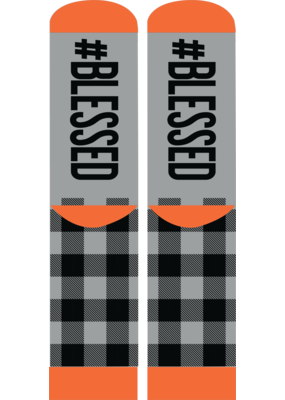 ***Simply Southern #Blessed Socks