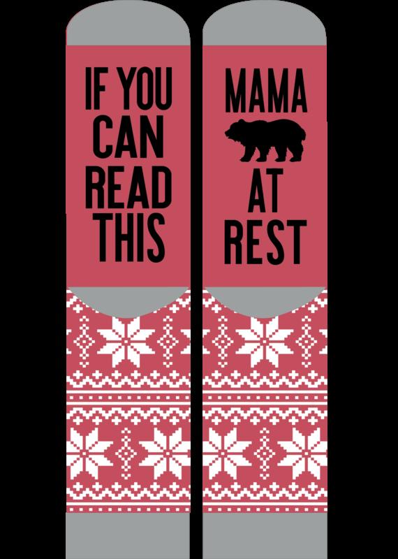 ***Simply Southern Mama Bear Resting Socks