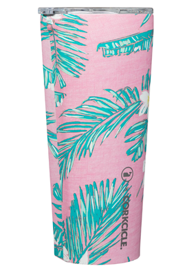 Corkcicle ***Corkcicle Vineyard Vines Tropical Flowers 24oz Tumbler