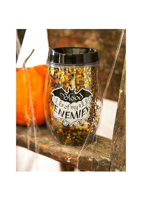 ***Blood of My Enemies Wine Tumbler